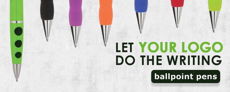 Let your logo do the writing - BallPoint Pens